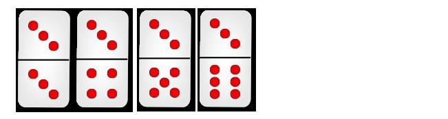 kartu domino mempunyai tiga titik